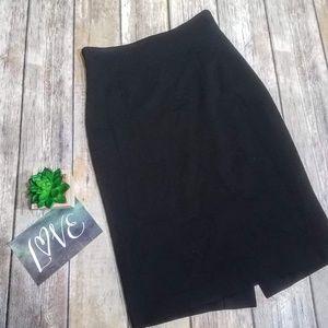 Escada XS Black Pencil Skirt